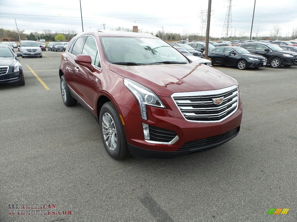 Red Passion Tintcoat / Cirrus Cadillac XT5 Luxury AWD