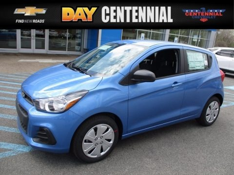 Splash Metallic 2017 Chevrolet Spark LS