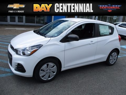 Summit White 2017 Chevrolet Spark LS