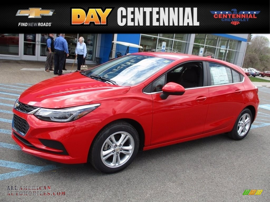 Red Hot / Jet Black Chevrolet Cruze LT