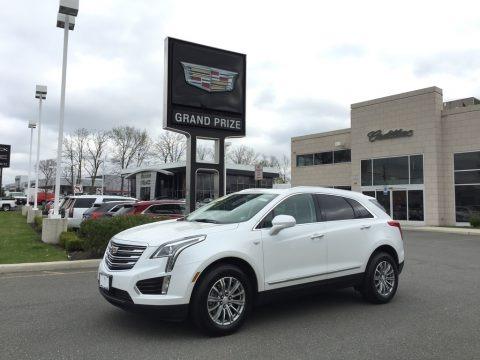 Crystal White Tricoat 2017 Cadillac XT5 Luxury AWD