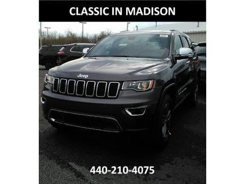 Granite Crystal Metallic 2017 Jeep Grand Cherokee Limited 4x4