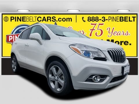 White Pearl Tricoat 2014 Buick Encore Convenience AWD