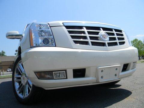 White Diamond 2010 Cadillac Escalade ESV Premium AWD