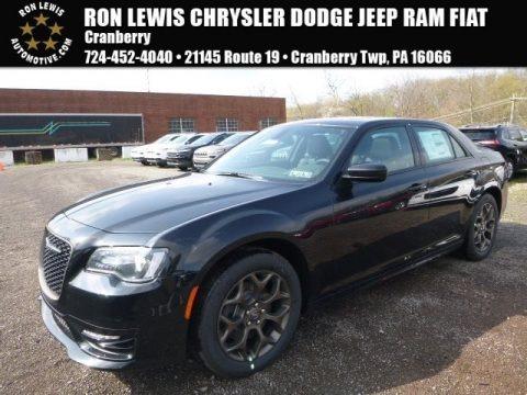 Gloss Black 2017 Chrysler 300 S AWD