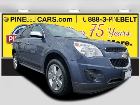 Atlantis Blue Metallic 2014 Chevrolet Equinox LT