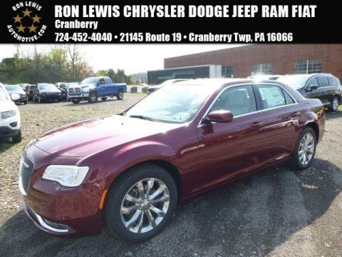 Velvet Red 2017 Chrysler 300 Limited AWD