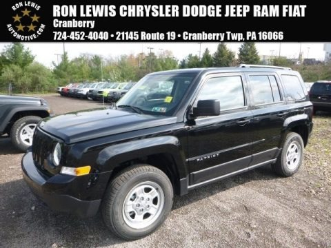 Black 2017 Jeep Patriot Sport 4x4