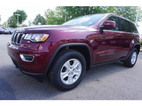 Velvet Red Pearl 2017 Jeep Grand Cherokee Laredo
