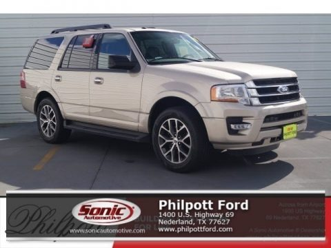 White Gold 2017 Ford Expedition XLT