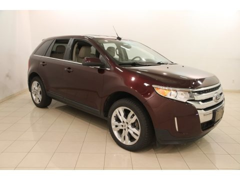 Bordeaux Reserve Red Metallic 2011 Ford Edge Limited