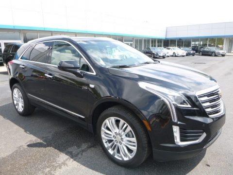 Stellar Black Metallic 2017 Cadillac XT5 Premium Luxury AWD