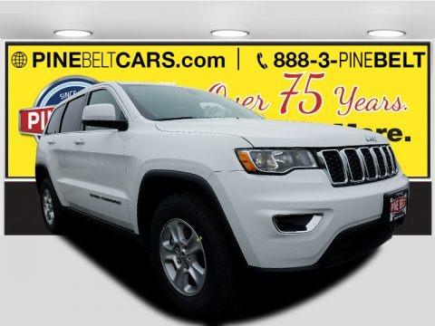 Bright White 2017 Jeep Grand Cherokee Laredo 4x4