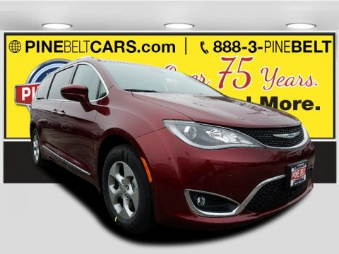 Velvet Red Pearl 2017 Chrysler Pacifica Touring L Plus