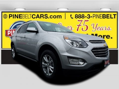 Silver Ice Metallic 2017 Chevrolet Equinox LT