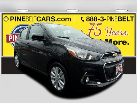 Mosaic Black Metallic 2017 Chevrolet Spark LT