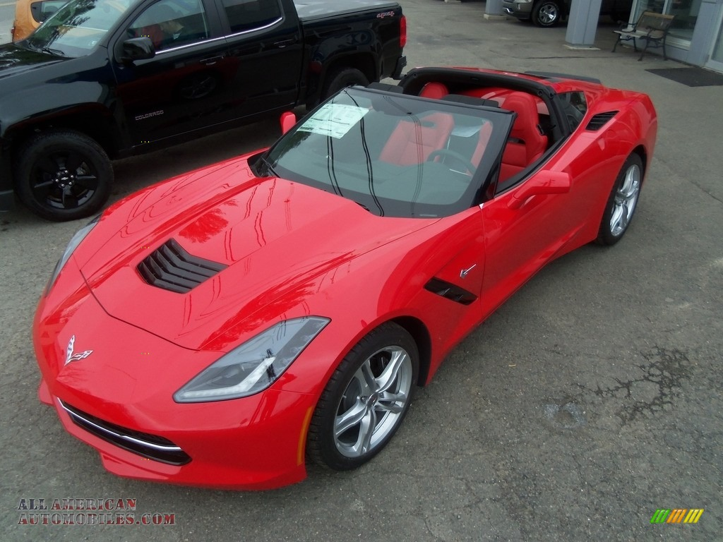 2017 chevrolet corvette stingray coupe in torch red 120946 all american automobiles buy. Black Bedroom Furniture Sets. Home Design Ideas