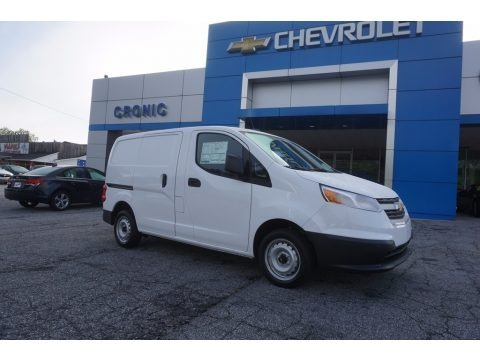 Designer White 2017 Chevrolet City Express LT