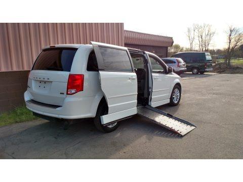 Stone White 2013 Dodge Grand Caravan SXT