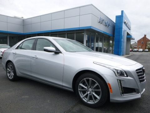 Radiant Silver Metallic 2017 Cadillac CTS Luxury AWD
