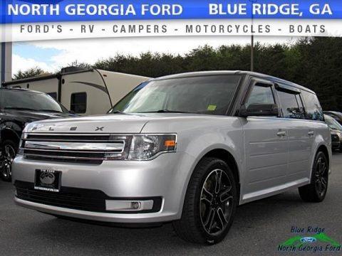 Ingot Silver 2014 Ford Flex SEL