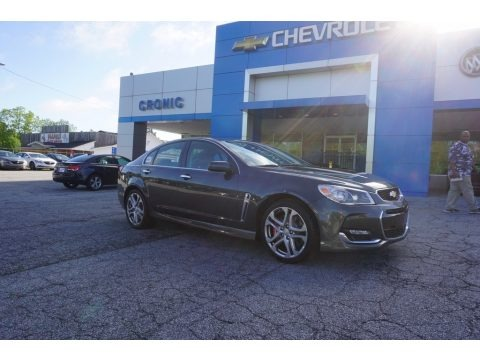 Nightfall Gray Metallic 2017 Chevrolet SS Sedan