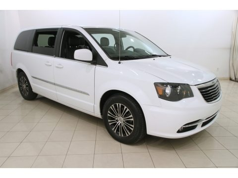 Bright White 2014 Chrysler Town & Country S