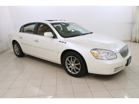 White Diamond Tricoat 2007 Buick Lucerne CXL