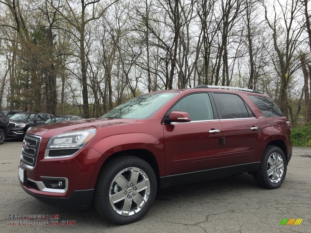 2017 gmc acadia limited awd in crimson red tintcoat 316194 all american automobiles buy. Black Bedroom Furniture Sets. Home Design Ideas
