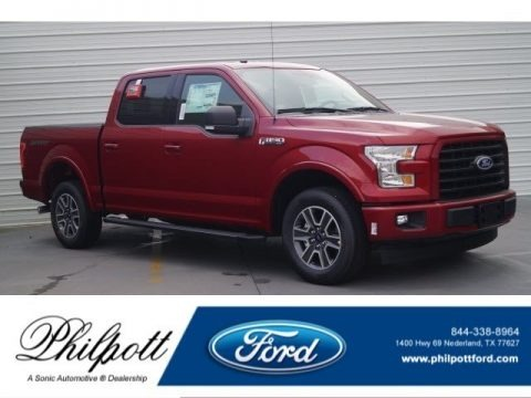 Ruby Red 2017 Ford F150 XLT SuperCrew