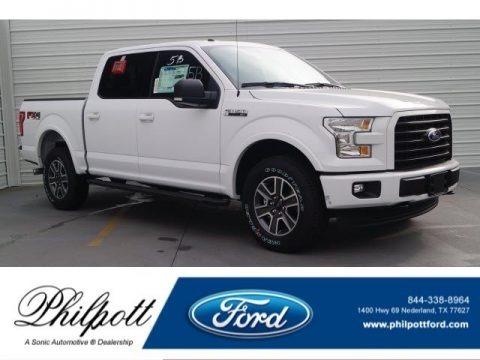 Oxford White 2017 Ford F150 XLT SuperCrew 4x4