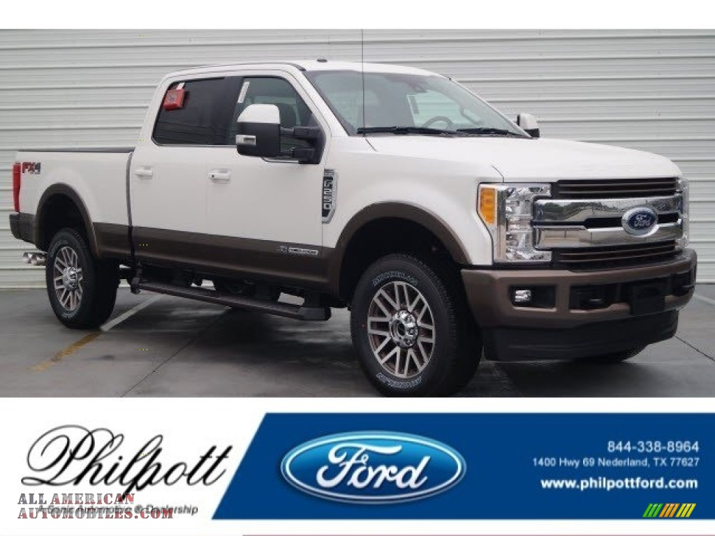 2017 ford f250 super duty king ranch crew cab 4x4 in oxford white d31509 all american. Black Bedroom Furniture Sets. Home Design Ideas