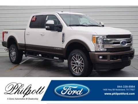 Oxford White 2017 Ford F250 Super Duty King Ranch Crew Cab 4x4