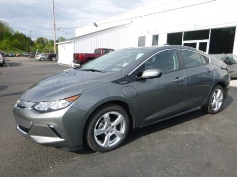Heather Gray Metallic 2017 Chevrolet Volt LT