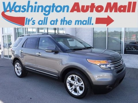 Sterling Gray 2014 Ford Explorer Limited 4WD
