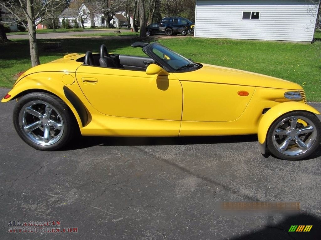 Prowler Yellow / Agate Plymouth Prowler Roadster