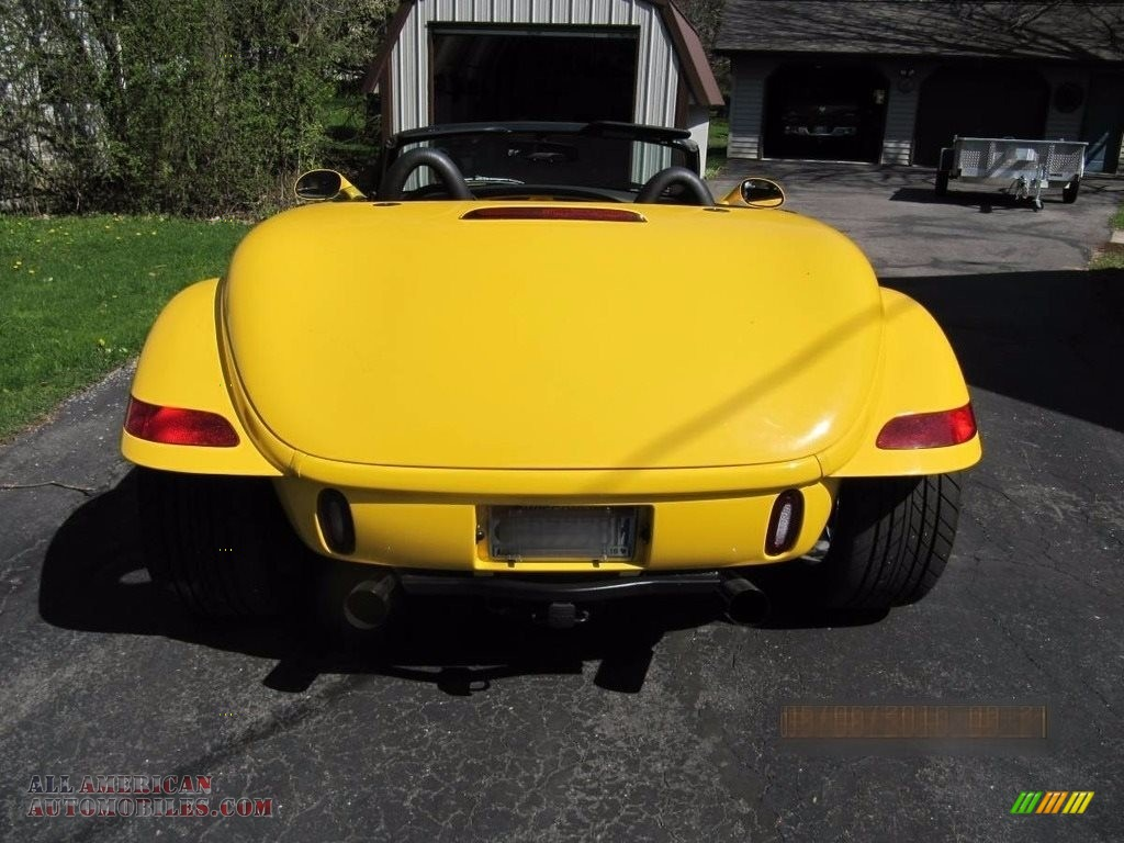 1999 Prowler Roadster - Prowler Yellow / Agate photo #3