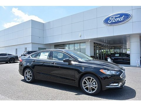 Shadow Black 2017 Ford Fusion S