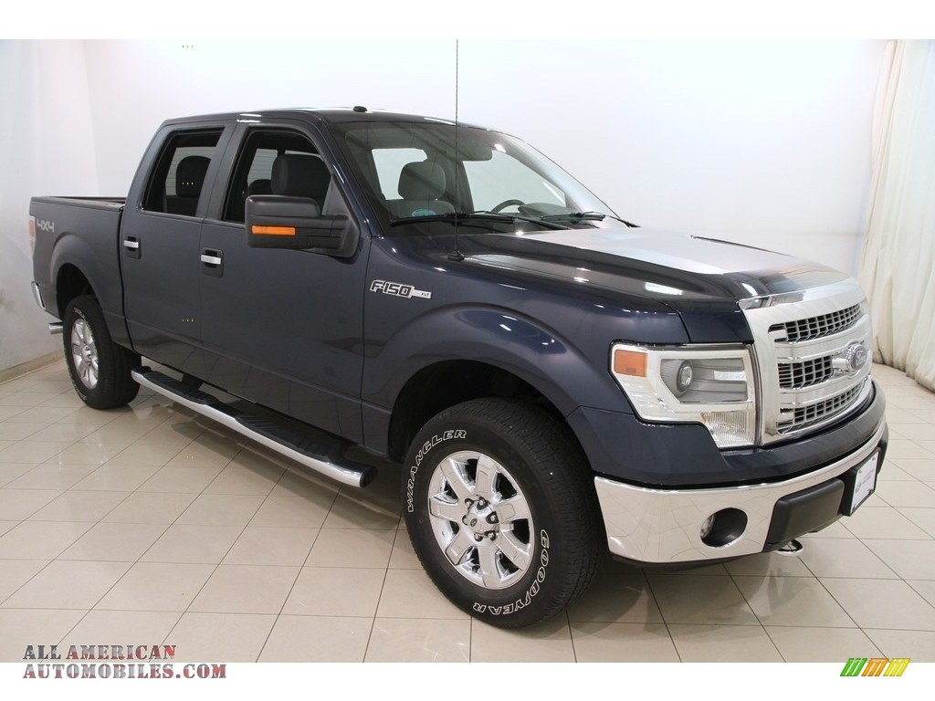 2014 ford f150 xlt supercrew 4x4 in blue jeans c88454 all american automobiles buy. Black Bedroom Furniture Sets. Home Design Ideas