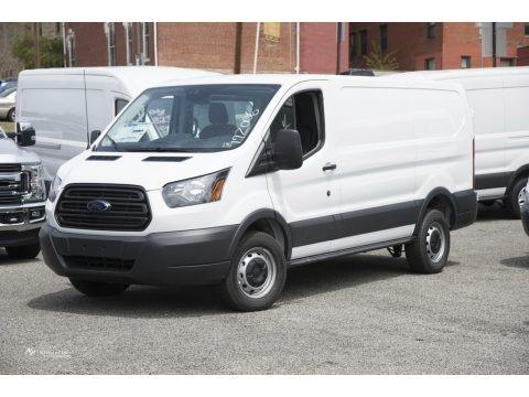 Oxford White 2017 Ford Transit Van 250 LR Regular