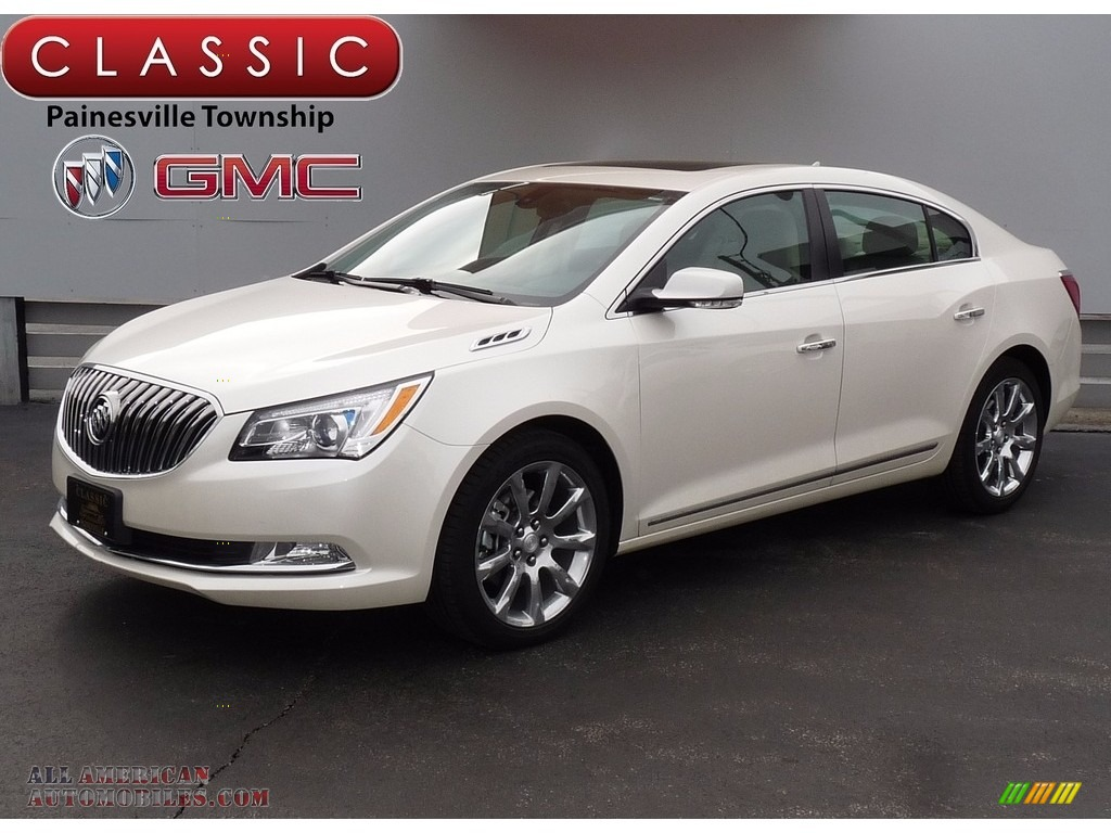 2014 buick lacrosse leather in white diamond tricoat 162391 all american automobiles buy. Black Bedroom Furniture Sets. Home Design Ideas
