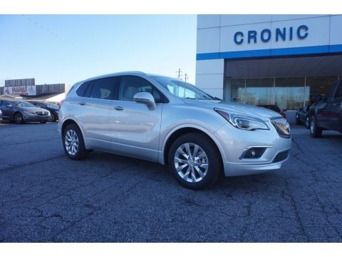 Galaxy Silver Metallic 2017 Buick Envision Essence