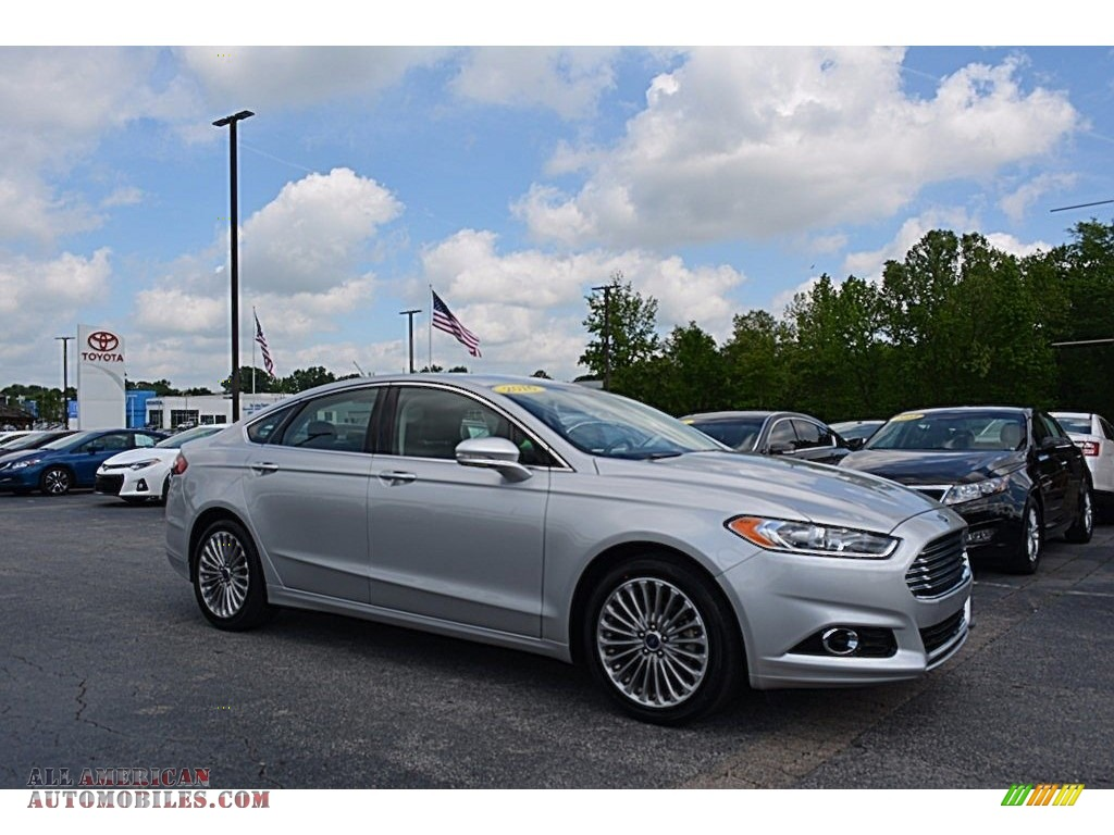 Alexander Auto Sales >> 2016 Ford Fusion Titanium in Ingot Silver Metallic - 369503 | All American Automobiles - Buy ...