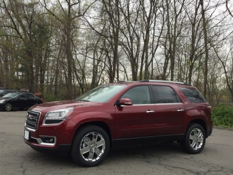 Crimson Red Tintcoat 2017 GMC Acadia Limited AWD