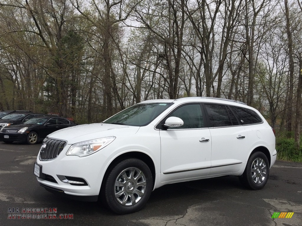 2017 buick enclave premium awd in summit white 309620 all american automobiles buy. Black Bedroom Furniture Sets. Home Design Ideas