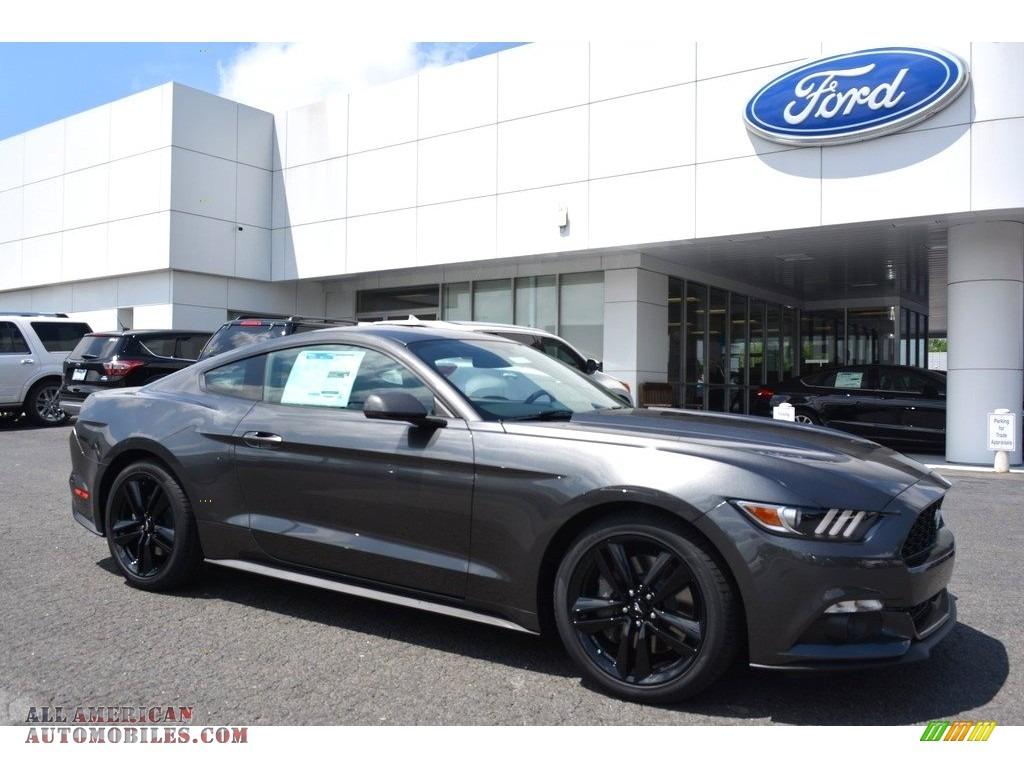 2017 ford mustang ecoboost coupe in magnetic 316306 all american automobiles buy american. Black Bedroom Furniture Sets. Home Design Ideas