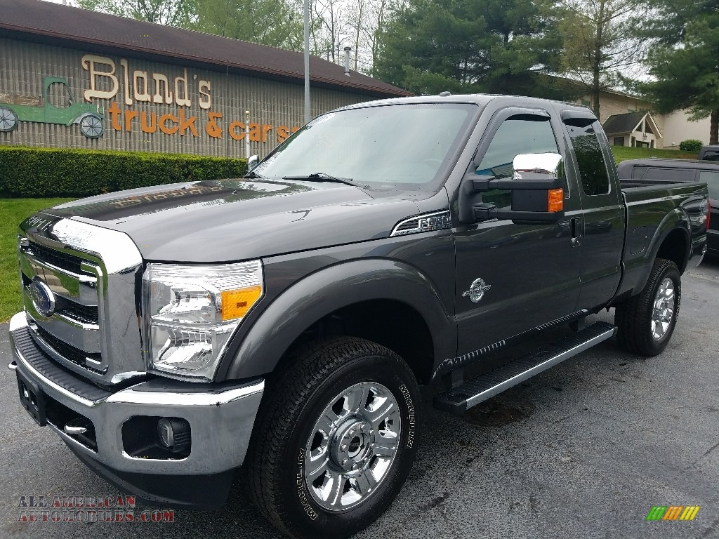 2015 ford f250 super duty lariat super cab 4x4 in magnetic c77629 all american automobiles. Black Bedroom Furniture Sets. Home Design Ideas