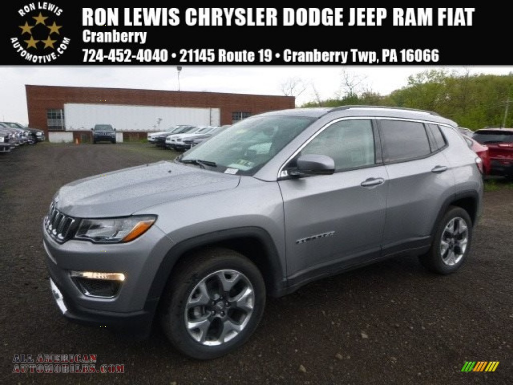 Ron Lewis Jeep >> 2017 Jeep Compass Limited 4x4 in Billet Silver Metallic - 611032 | All American Automobiles ...