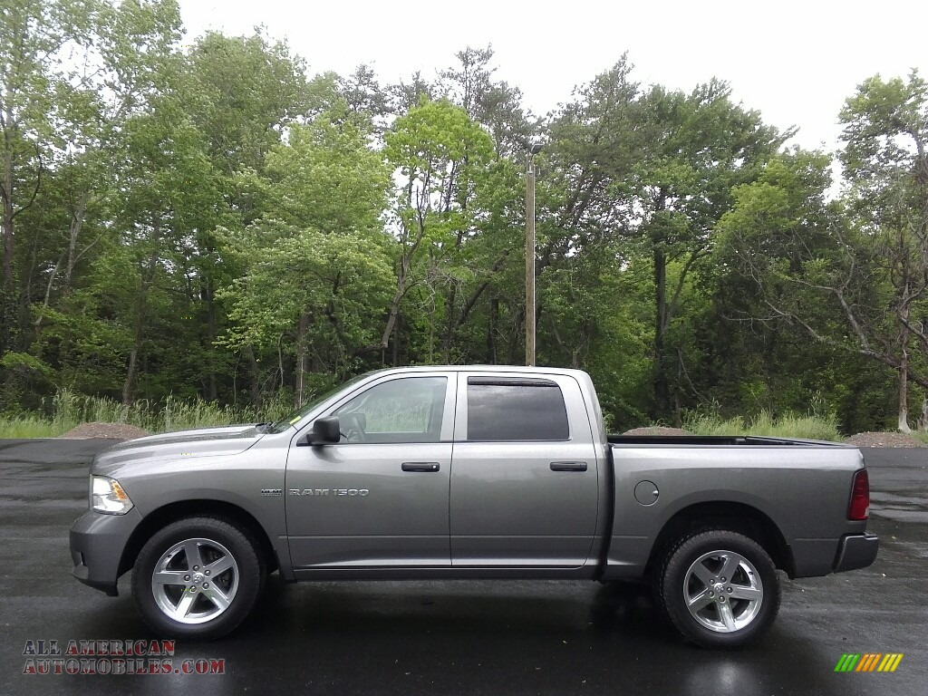 2012 dodge ram 1500 st crew cab 4x4 in bright silver metallic 284694 all american. Black Bedroom Furniture Sets. Home Design Ideas