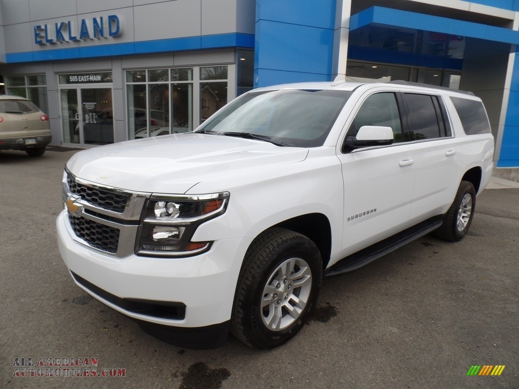 2017 chevrolet suburban ls 4wd in summit white 230853 all american automobiles buy. Black Bedroom Furniture Sets. Home Design Ideas